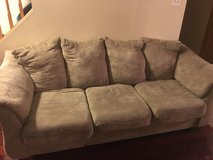 Tan Couch in Plainfield, Illinois