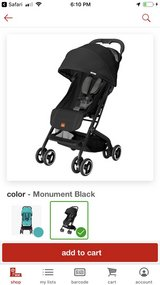 BRAND NEW Qbit stroller (still in box)  and car seat and base in Camp Lejeune, North Carolina