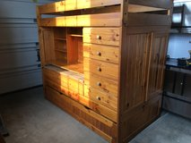 Bunk bed with desk & trundle in Bolingbrook, Illinois