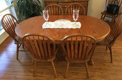 Dining Room Table w/7 Chairs in Kingwood, Texas