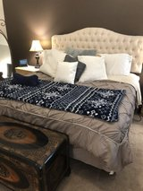 *** King size Beauty Rest mattress, box spring, and bed frame in Kingwood, Texas