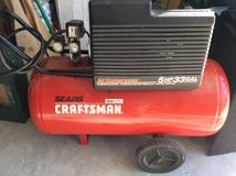 Craftsman 5hp Two Stage Air Compressor in Conroe, Texas