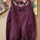 $3.00 Baby Girls Size 3/6 Months Gymboree Purple One Piece - Jumper  Snap Down Legs - Embroidere... in Leesville, Louisiana