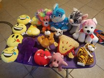 Lot of stuffed animals in Fort Bliss, Texas