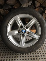 Bridgestone Blizzak WS80 Winter Radial Tire including BMW wheels in St. Charles, Illinois