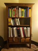 Bookshelf in Fort Drum, New York