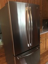 GE Stainless Refrigerator -less than an a year old ! in Oswego, Illinois