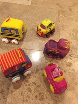 lot of 5 baby toddler small cars in Morris, Illinois