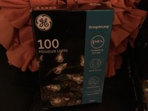New in box 100 strand clear Christmas lights in Fairfield, California