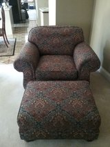 Chair with Ottoman in Plainfield, Illinois