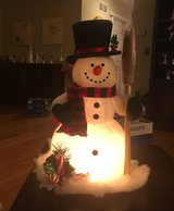 Lighted Snowman in Bolingbrook, Illinois