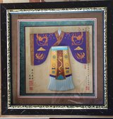 Framed Decorative Chinese Classical Clothing (miniature) in Okinawa, Japan