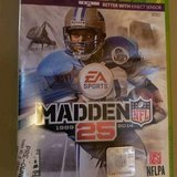 $3.00 XBox 360 Madden 25 Football Game  PreUsed, LOOKS & Plays NEW - EXcellent Condition Smoke F... in Leesville, Louisiana