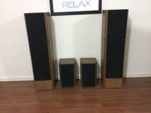 Venturi Surround Sound  Speakers - fronts and rears in Lockport, Illinois