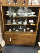 Mid-century display cabinet in St. Charles, Illinois