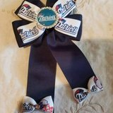 """3.00 Navy Blue Patriots Ponytail Holder - Bling - NEW Width 4"""" - Length 6 1/2"""" NEW, - EXcellent ... in Leesville, Louisiana"""