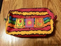 Travel Cosmetic Make-up Bag Antibes France in Lockport, Illinois