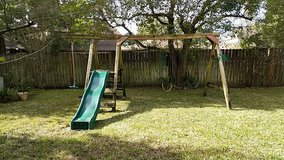 Swingset in Kingwood, Texas