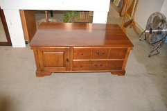 Cherry Coffee Table with drawers & door in Fort Lewis, Washington