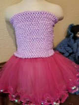 $10.00 Baby Girls Size 9/18 Months Sequin Tutu Skirt & Tube Top Set - NEW Skirt Is 5 Layered - M... in Leesville, Louisiana