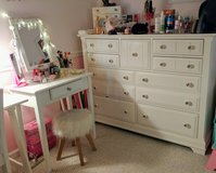 Complete Set of White Bedroom Furniture! in Camp Lejeune, North Carolina