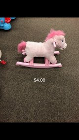 Pink Rocking Horse in Fort Leonard Wood, Missouri