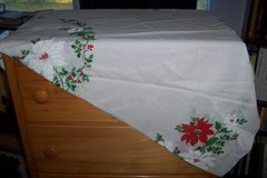 Christmas table cloth in Conroe, Texas