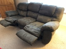 Couch with two recliners in Lockport, Illinois