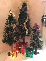 Christmas Trees w/ Lighted Presents in Bolingbrook, Illinois