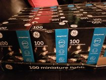 New in box GE 100 strand clear Christmas lights in Fairfield, California