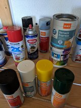 paint, stain, clear polyurethane, cleaners in Ramstein, Germany