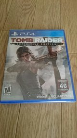 PS4 Tombraider sealed in Okinawa, Japan