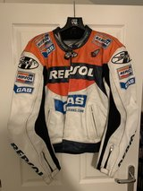 Joe Rocket Repsol Leather Jacket & Boots in Lakenheath, UK