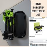 Travel seat/booster in Ramstein, Germany