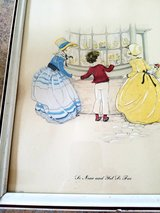 Hand colored lithograph in Elgin, Illinois