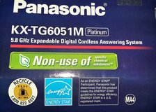 AMERICAN TELEFON PANASONIC KX-TG6051M platinum - 120Volts in Spangdahlem, Germany