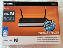 AMERICAN D-LINK WIRELESS N ROUTER DIR-615 WLAN ROUTER 120 VOLTS in Spangdahlem, Germany
