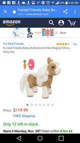 Baby Pony - Makes Noises/Butterscotch FurReal Friends in Beaufort, South Carolina