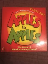 Apples to Apples Party Box in Ramstein, Germany