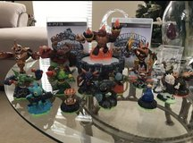 SKYLANDERS PS3 with 2 games plus Characters in Chicago, Illinois
