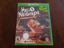 Hello Neighbor Xbox one game 4K HD in Fort Bliss, Texas