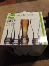 Glass set of Pilsner new in Spring, Texas