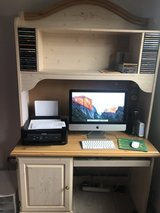 Slightly used desk and hutch in Plainfield, Illinois