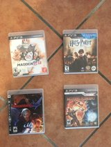 PS3 Video Games (4) in Ramstein, Germany