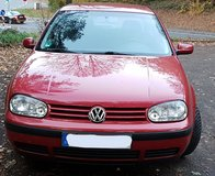 2001 VW Golf IV, manual transmission, grandma car, only one owner in Ramstein, Germany