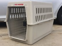 "DOG CRATE LARGE KENNEL 36""x24""x26"" PET TRAVEL in Lockport, Illinois"