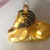 """Sphinx""/Egypt's art- ornament/decoration, signed in Dothan, Alabama"