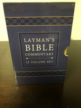 Layman's Bible Commentary 12 Volume Set (2014,Bonded Leather) in Fort Knox, Kentucky