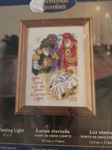 "Cross stitch ""Christmas Promises"" in Alamogordo, New Mexico"