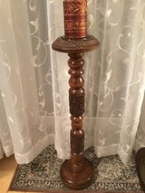 Wooden Candle Stand in Ramstein, Germany